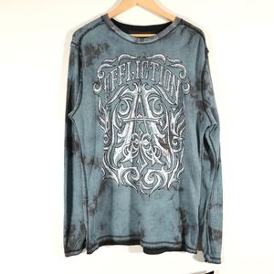 Affliction Causeway Chalkboard Reversible Thermal